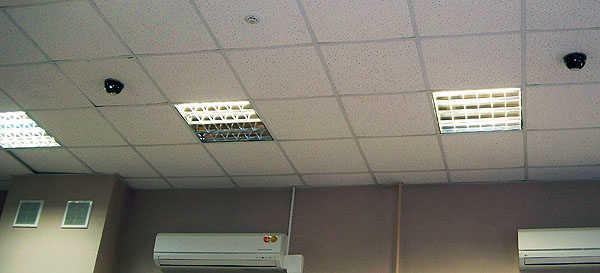 Купольные камеры в зале КнАГТУ