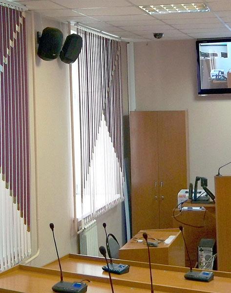 Система озвучивания в аудитории КнАГТУ